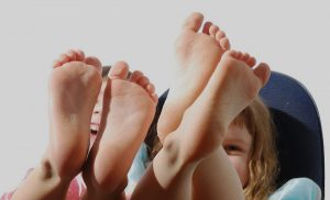 Desviación de los dedos en la infancia